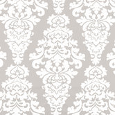 French Gray Berlin Duck Cloth Fabric